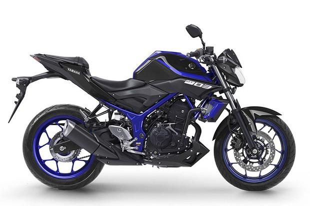Yamaha MT-03 2018 (Foto: divulgação)