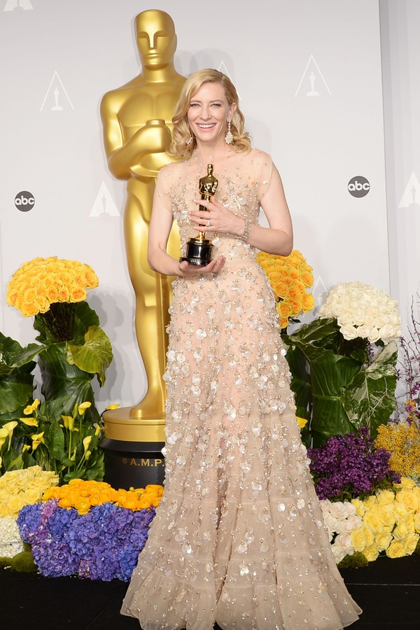 Cate Blanchett no Oscar 2014 (Foto: Getty Images)