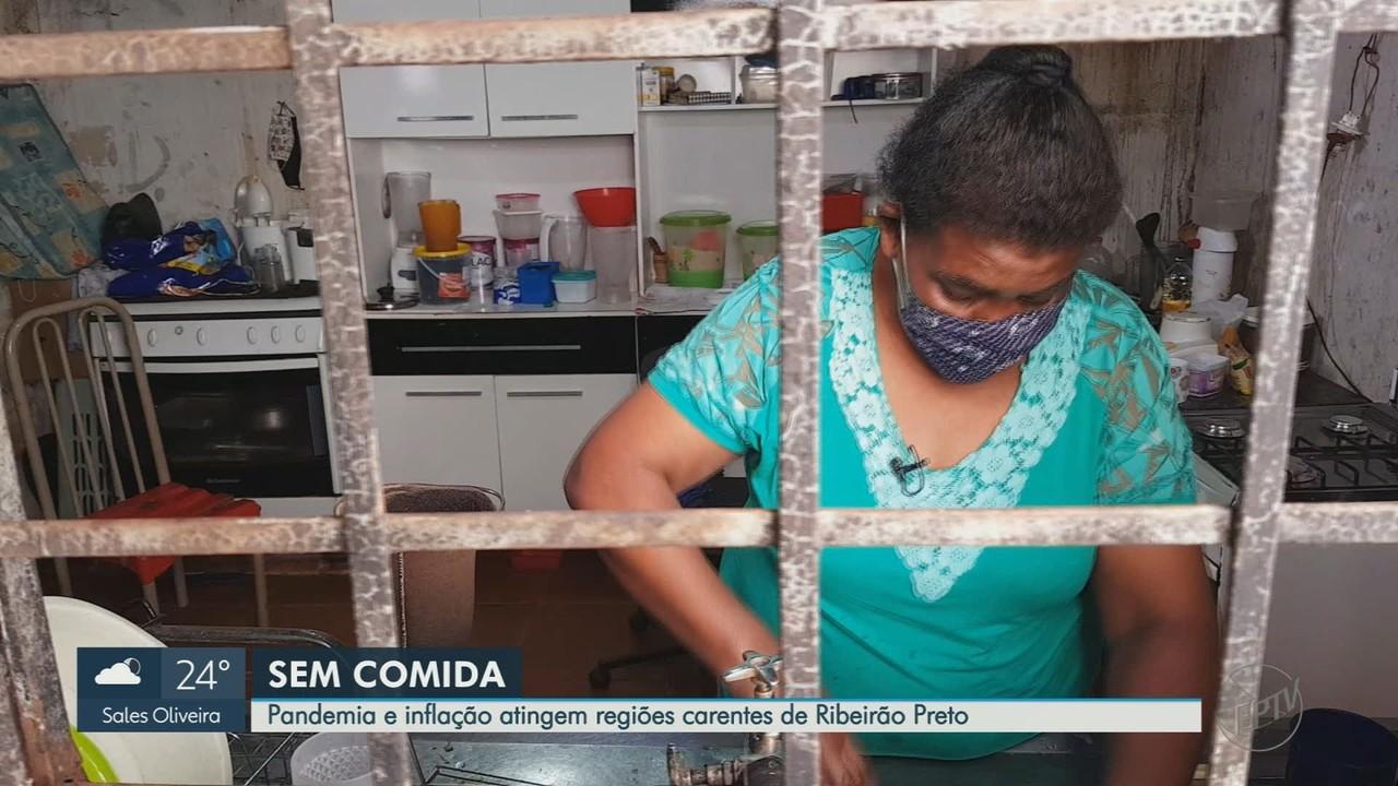 Pandemia de Covid-19 deixa famílias carentes sem comida em Ribeirão Preto