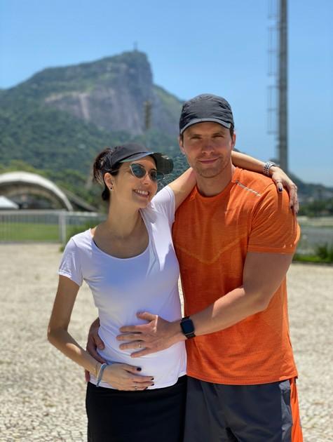 Mariana Vaz e Thiago Fragoso (Foto: Arquivo pessoal)