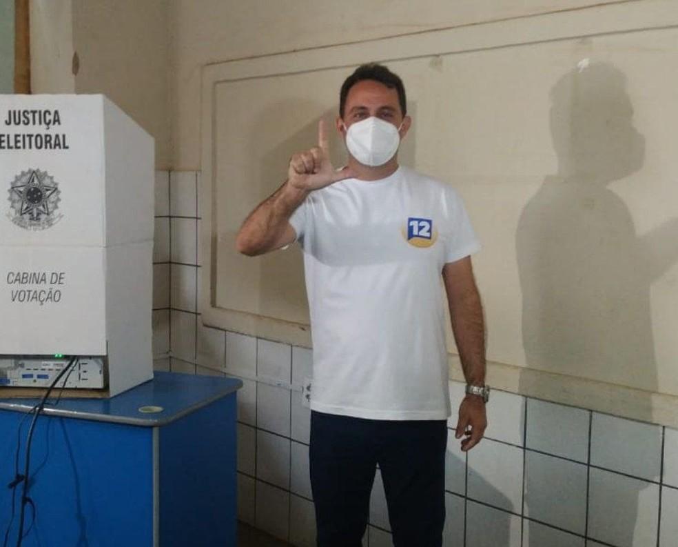 Dr. Lorim (PDT) vence as eleições em Missão Velha.  — Foto: Reprodução
