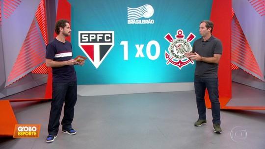 """Caio Ribeiro analisa derrota do Corinthians em clássico: """"O que me incomoda é a postura"""""""