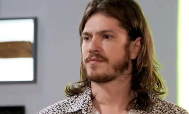 Caio Paduan é Quizinho (Foto: TV Globo)
