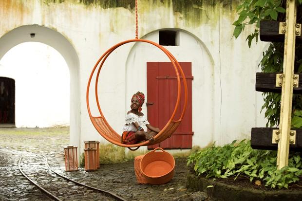 Casa Vogue Ama: Balanços suspensos (Foto: Reprodução/Divulgação)