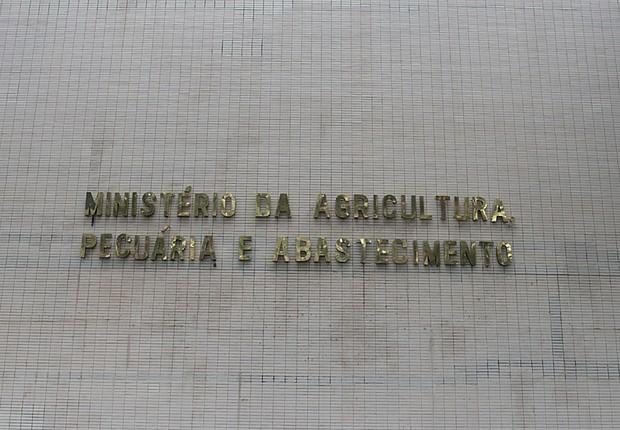 Ministério da Agricultura (Foto: Wilson dias/Agência Brasil)