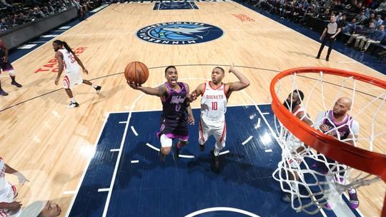 Melhores momentos: Minnesota Timberwolves 121 x 111 Houston Rockets, pela NBA