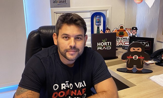Guilherme Lemos, CEO do Grupo Rão
