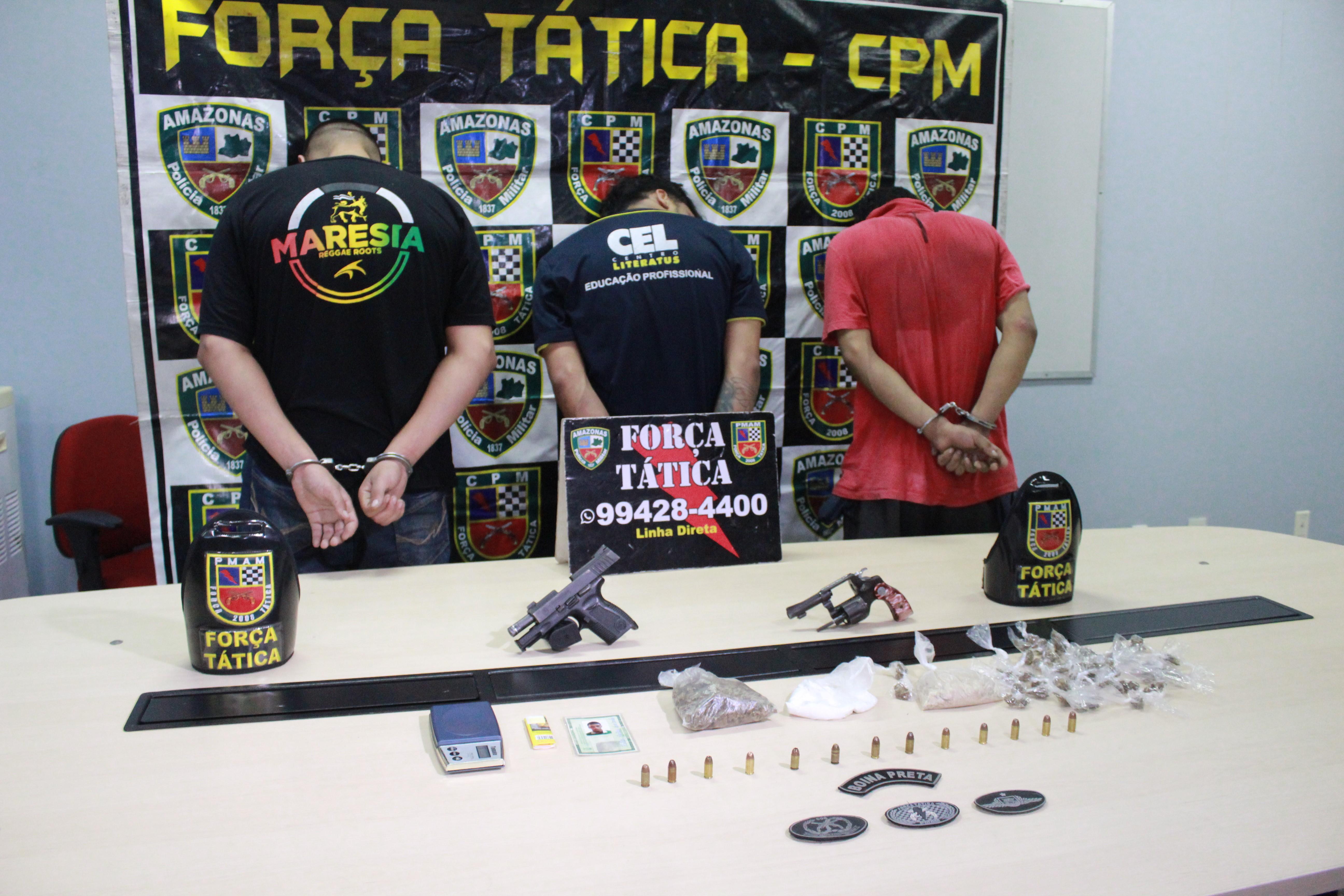 Foragido do CDPM 2 suspeito de participar de assassinato de funcionário do Inpa é preso com armas e drogas em Manaus - Notícias - Plantão Diário