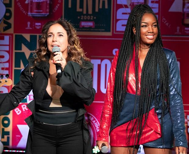 Daniela Mercury e Iza (Foto: Felipe Panfili/Divulgação)