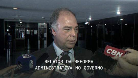 Central GloboNews entrevista Fernando Bezerra, relator da reforma administrativa