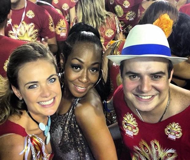 Tichina Arnold com Thaís Pacholek e Belutti (Foto: Reprodução/Instagram)