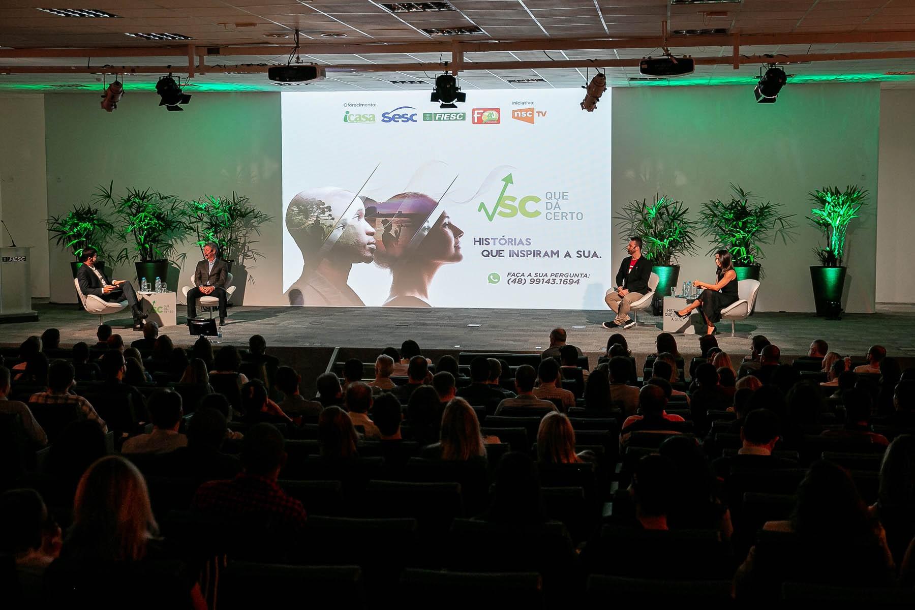 Painelistas do SC Que Dá Certo Florianópolis compartilham dicas sobre empreendedorismo - Noticias