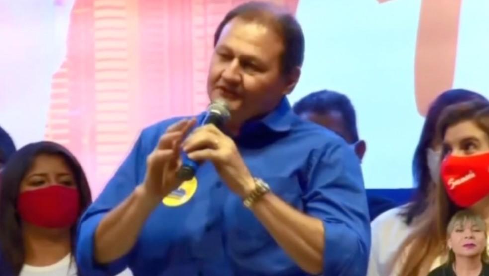Marcelo Miglioli foi oficializado candidato à Prefeitura de Campo Grande pelo Solidariedade — Foto: Reprodução/Redes Sociais