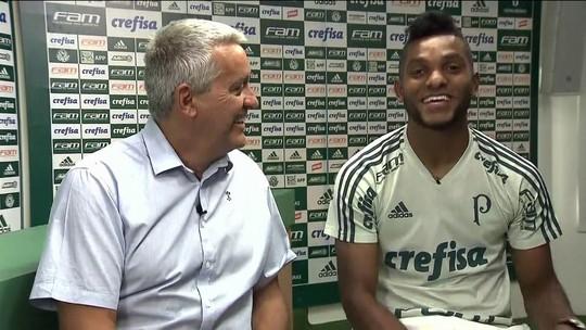 Borja elogia Felipe Melo e revela papo no Palmeiras sobre Boca e Bombonera