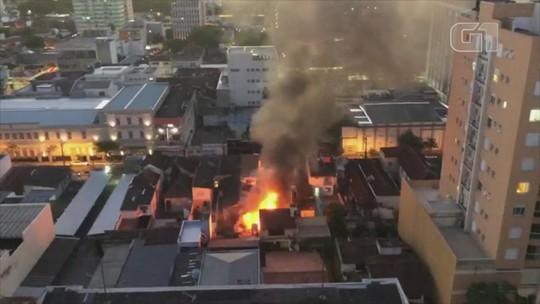 Incêndio atinge residência no Centro de São Leopoldo