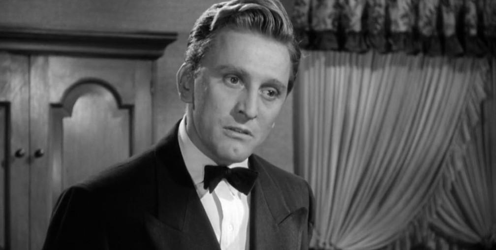 Kirk Douglas no filme 'A letter to three wives', de 1949 — Foto: Divulgação