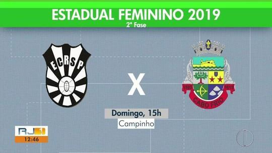 Cabo Frio estreia contra o Rio São Paulo no Estadual feminino