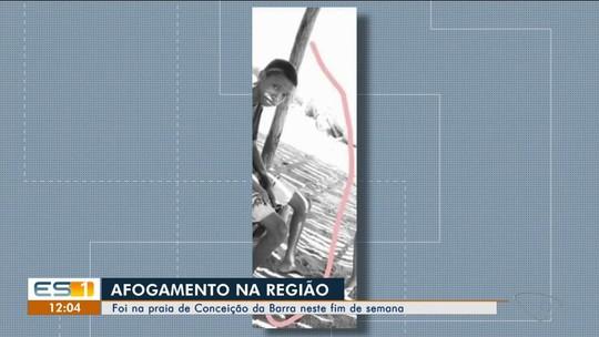 Adolescente morre depois de se afogar em praia de Conceição da Barra, ES