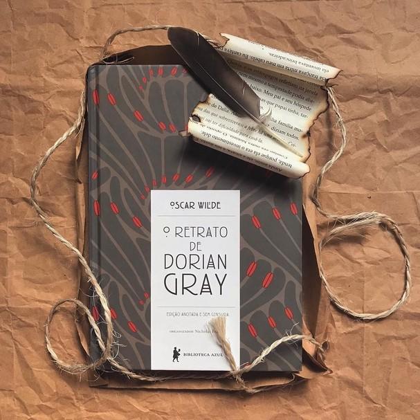 Livro O Retrato de Dorian Gray, da Globo Livros (Foto: Reprodução/Instagram)