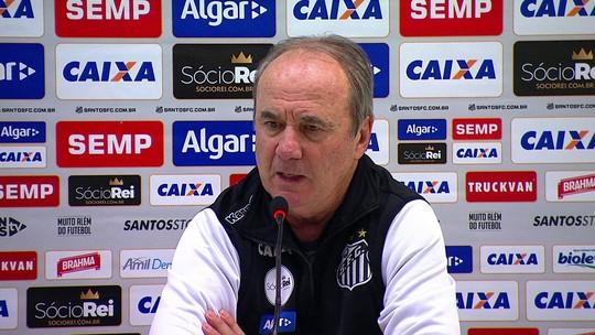 Levir lamenta tropeço contra o Vitória e pede desculpas à torcida do Santos