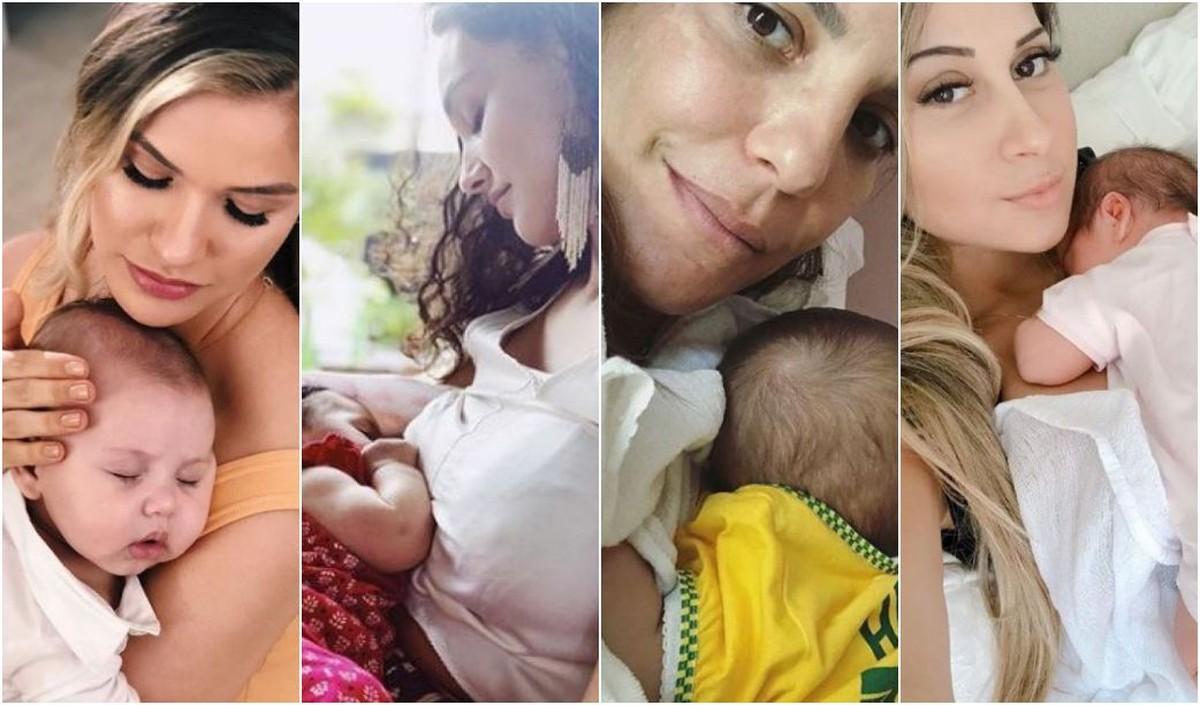 Sabrina Sato, Isis Valverde... Relembre famosas que tiveram filho em 2018