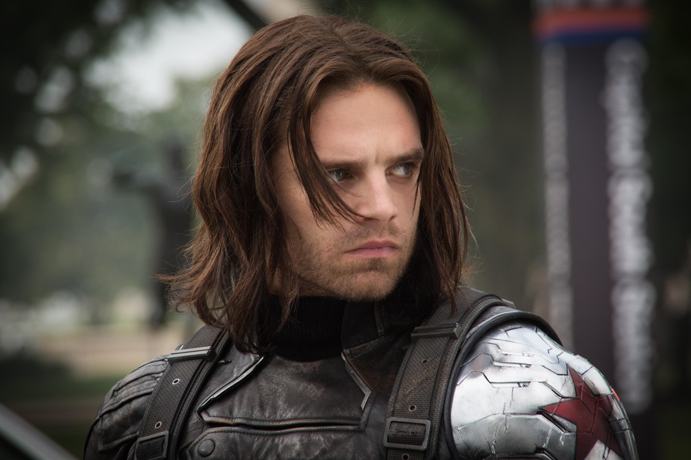 Sebastian Stan em cena de 'Capitão América 2: O Soldado Invernal' (Foto: Divulgação)