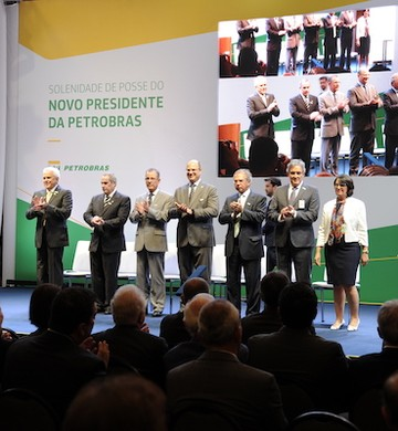 Posse de Roberto Castello Branco na Petrobras (Foto: Andre Ribeiro / Agência Petrobras)
