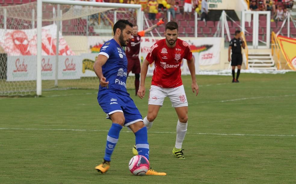 Frontini é um dos artilheiros da competição ao lado de Matheus Santana do Boca Júnior (Foto: Emanuel Rocha)
