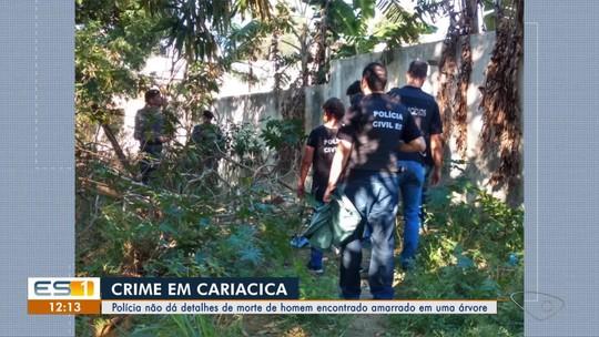 Polícia não dá detalhes de morte de homem encontrado amarrado em uma árvore em Cariacica