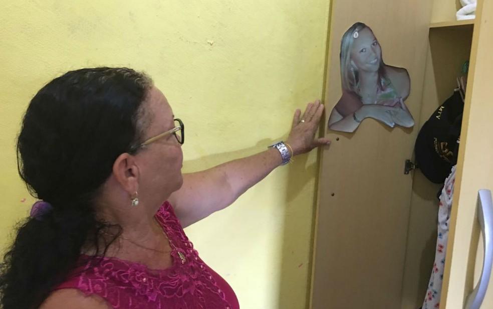 Tatiane desapareceu a caminho do trabalho, no subúrbio de Salvador  — Foto: Itana Silva/G1