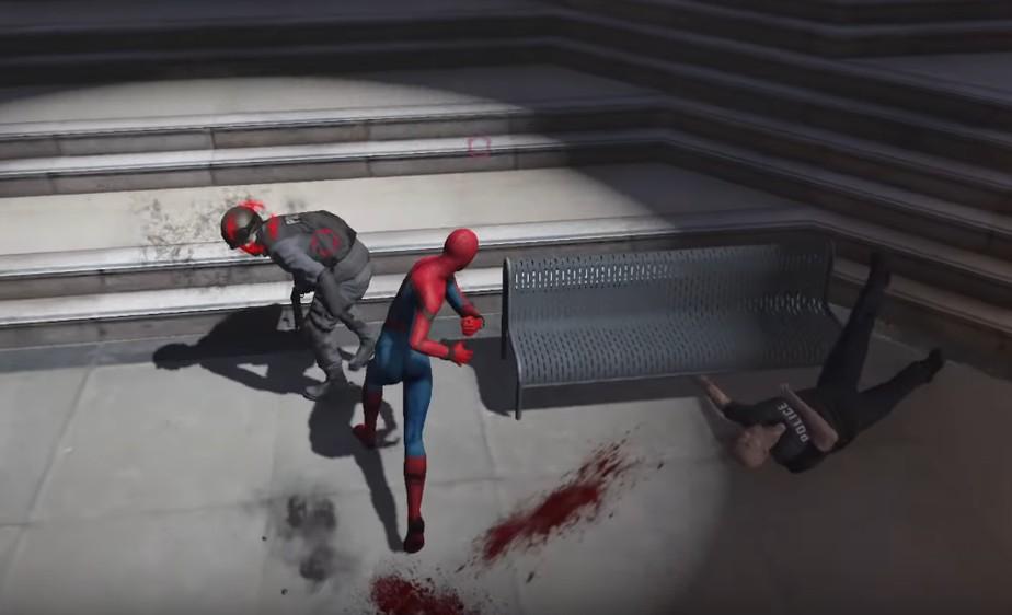 GTA 5 se transforma em jogo do Homem-Aranha com novo mod