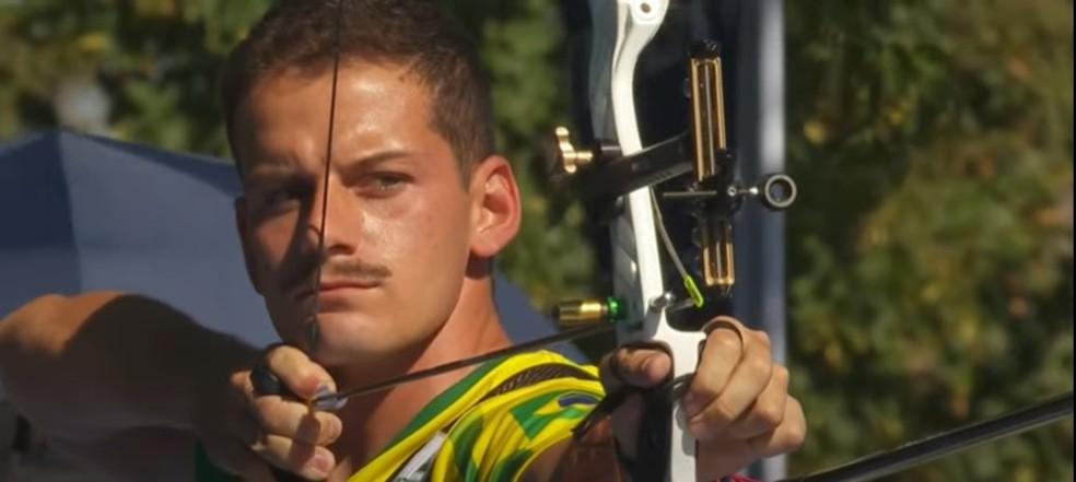 Marcus Vinicius D´Almeida no Mundial de 2021 — Foto: Reprodução