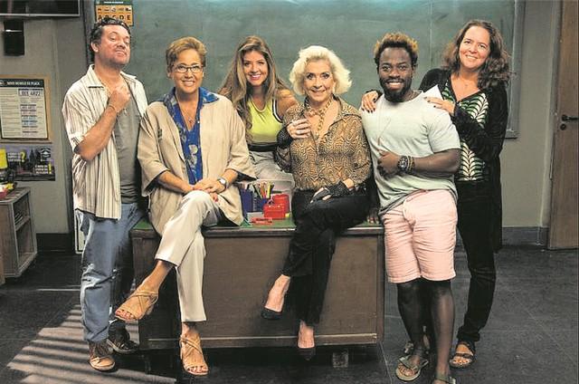 Protagonistas da série 'Os infratores' (Foto: TV Globo/Estevam Avellar)