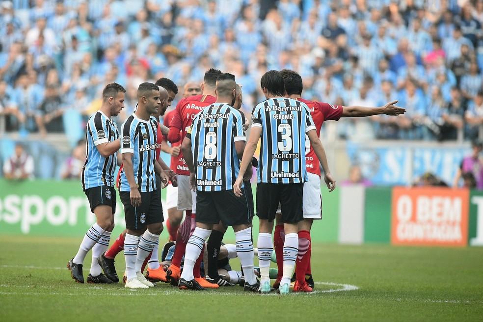 Clássico 416 foi pegado, mas de poucas chances de gol (Foto: Wesley Santos/Agência PressDigital)