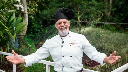 Raul Gazolla diz que aprendeu a cozinhar quando morava sozinho fora do país