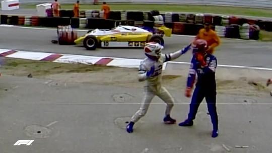 Errrrou! F1 confunde Salazar com Boesel em vídeo de briga com Piquet de 1982