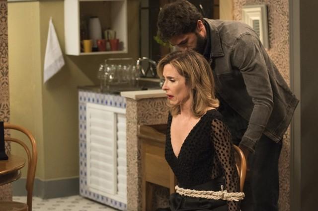 Deborah Evelyn e Rafael Queiroz (Foto: Cesar Alves/TV Globo)