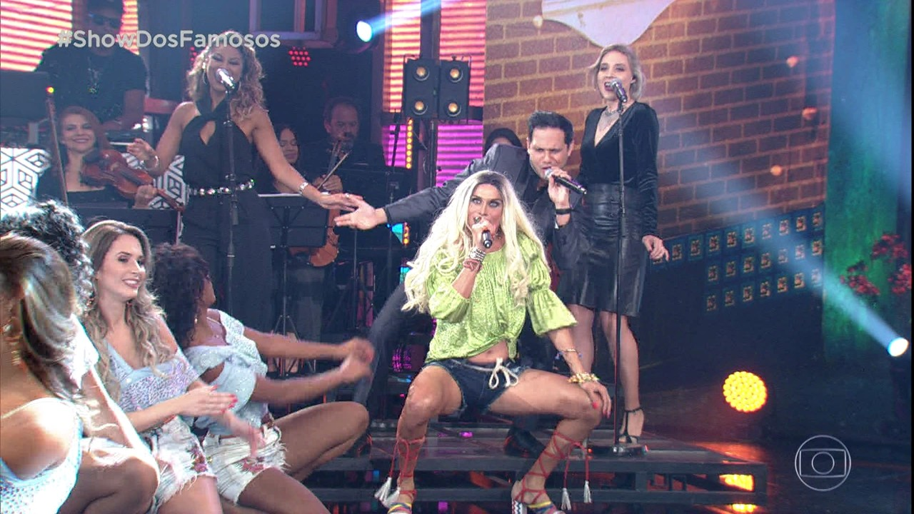 Silvero Pereira estreia no 'Show dos Famosos' como Pabllo Vittar