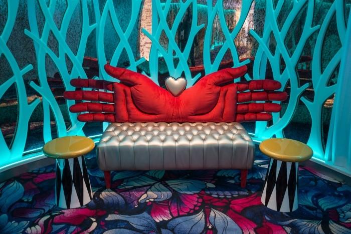 Wonderland, o restaurante inspirado no filme Alice no país das maravilhas (Foto: SBW Photo)