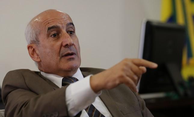 O ministro da Secretaria-Geral de Governo, general general Luiz Eduardo Ramos