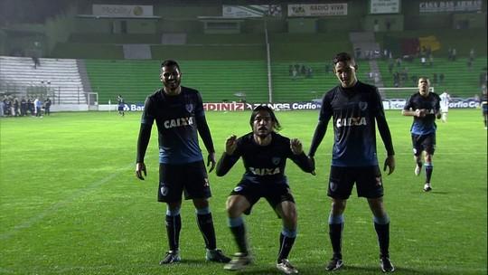 Os gols de Juventude 0 x 2 Londrina pela Série B do Campeonato Brasileiro