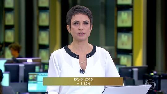 Economia cresceu 1,15% em 2018, segundo o Banco Central