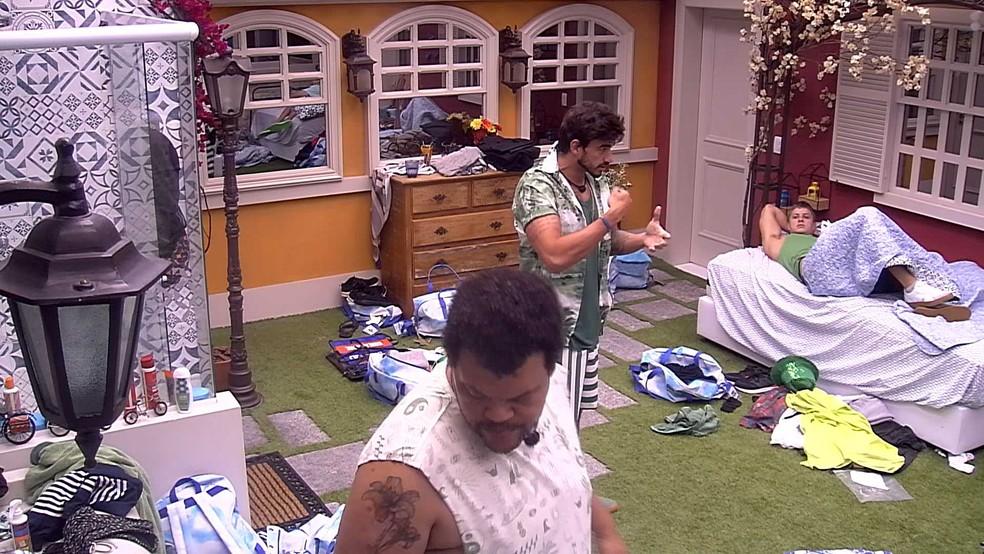 Babu reclama de Daniel: 'Não vou avisar mais nada' — Foto: Globo