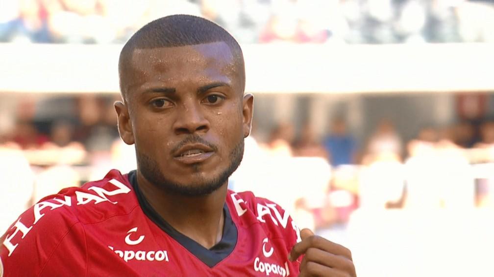 Marcelo Cirino Athletico — Foto: Reprodução/TV Globo