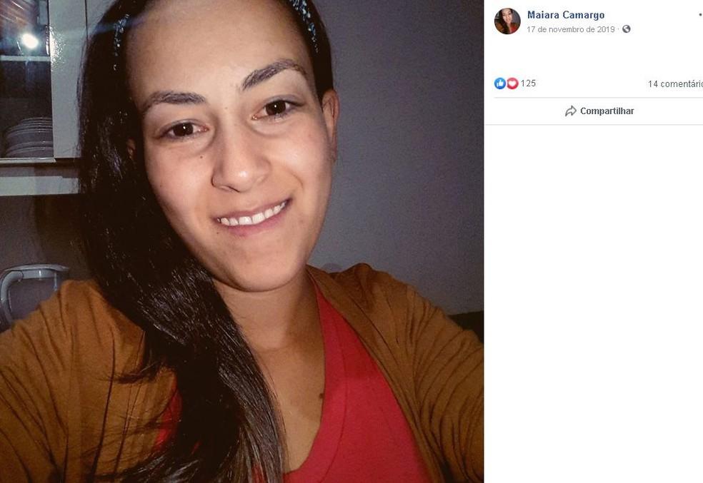 Vítima tinha 23 anos e morava em São Manuel  — Foto: Facebook/ Reprodução