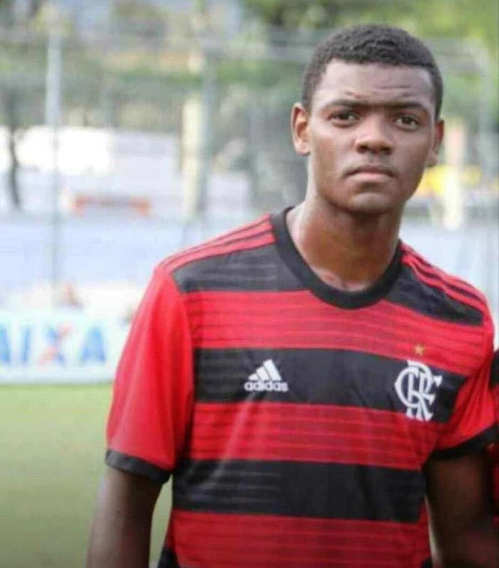 Pablo Henrique da Silva Matos Flamengo Werley Oliveira — Foto: Arquivo Pessoal