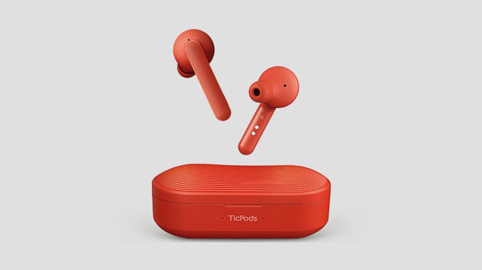 Fone de ouvido sem fio TicPods Free é o novo rival de baixo custo dos Apple AirPods (Foto: Reprodução/Indiegogo)