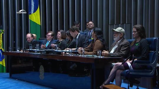 Ministro Ricardo Salles é vaiado em sessão do Senado dedicada ao meio ambiente