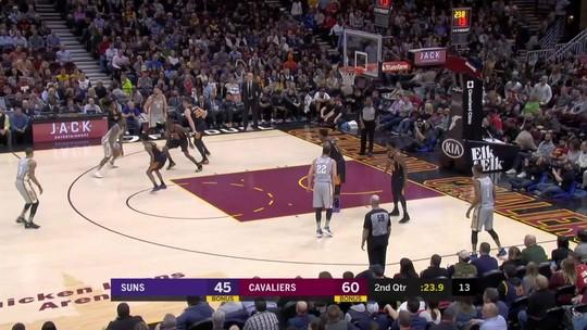 Melhores momentos: Phoenix Suns 95 x 120 Cleveland Cavaliers pela NBA