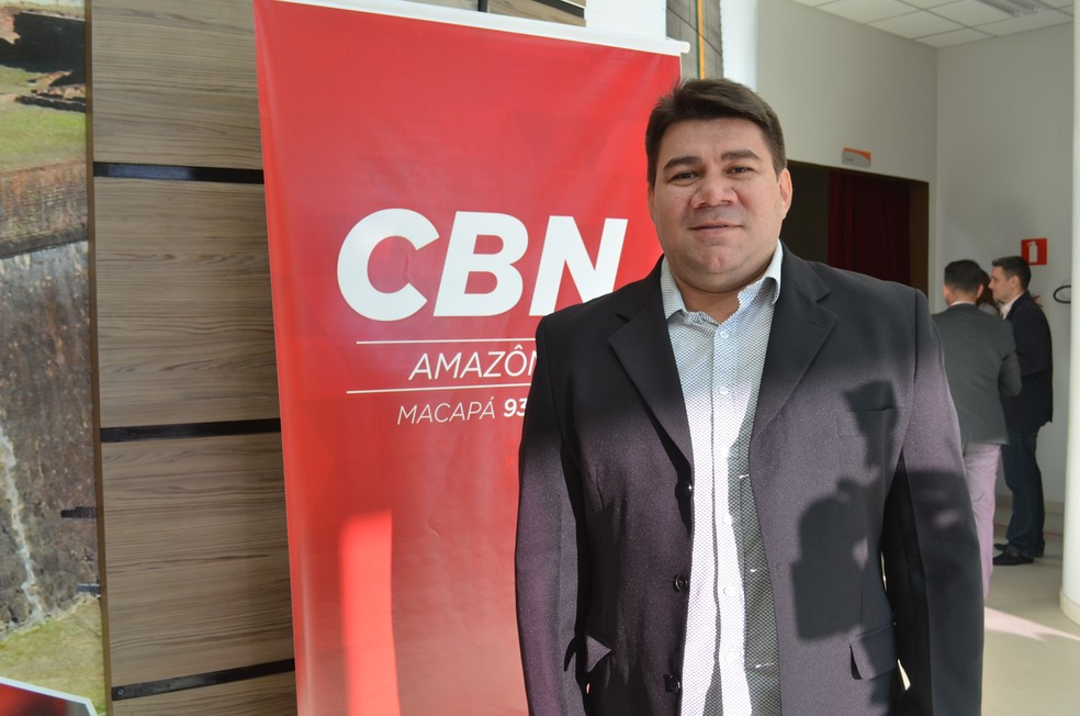 Gerente de marketing do grupo Rede Amazônica, Ribeiro júnior (Foto: Rita Torrinha/G1)